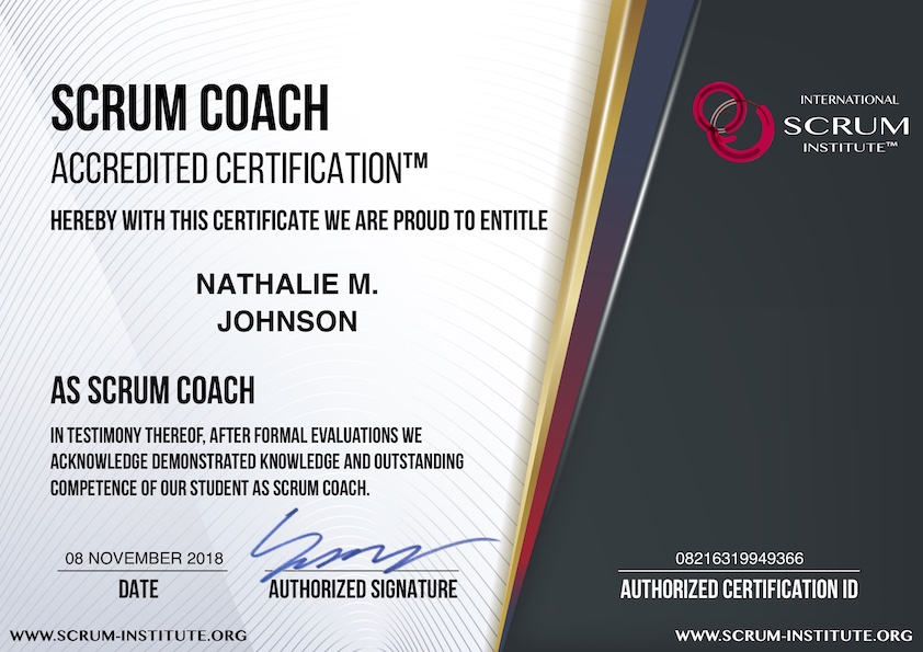 what is usd 149 scrum coach accredited certification program ...