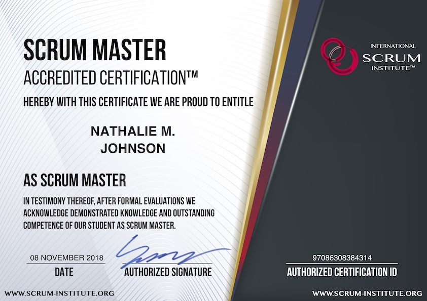 what is usd 69 scrum master accredited certification program ...