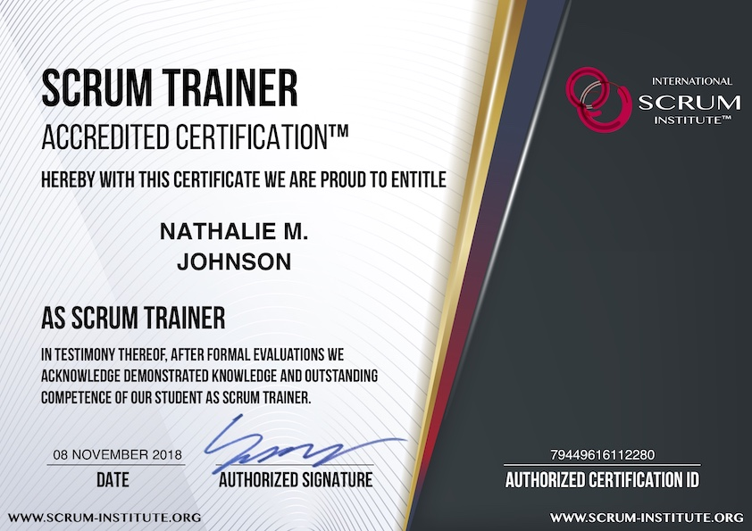 What Is Usd 99 Scrum Trainer Accredited Certification Program